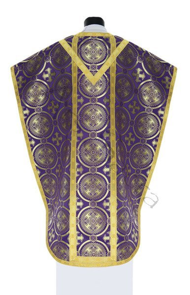 "Silk chasuble ""St. Philip Neri"" 068-FS8"