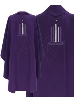"""Gothic Chasuble """"Advent"""" 783-F"""