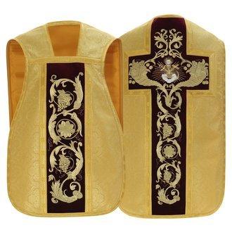 "Roman chasuble ""Sacramental bread"" R787-AGC25"