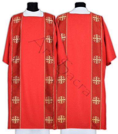"Gothic Dalmatic ""Jerusalem Crosses"" D103-C"