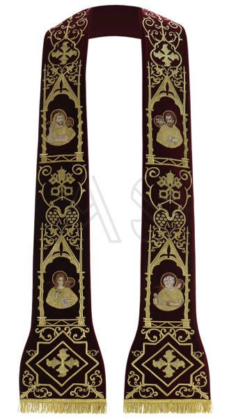 """Roman stole """"Apostoli"""" SH465-AZA"""