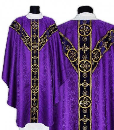Semi Gothic Chasuble GY579-AF25