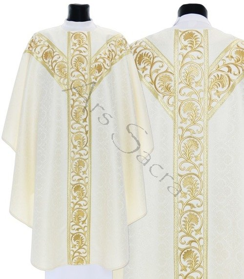 Semi Gothic Chasuble GY741-K25