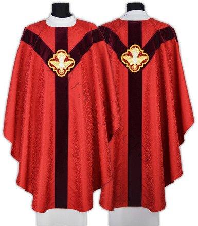 """Semi Gothic Chasuble """"Holy Spirit"""" GY207-AC25"""
