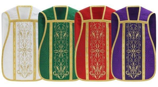 Set of 4 roman chasubles SET-RH1-25