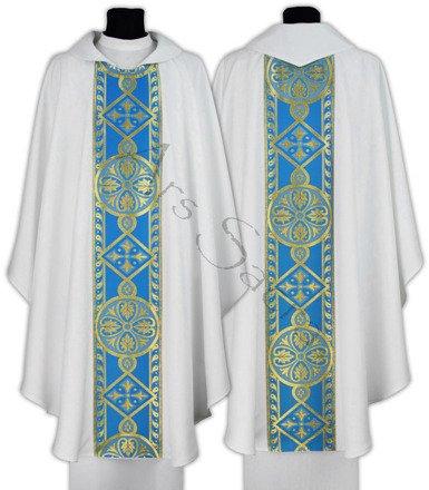 Casulla gótica mariana 013-BN