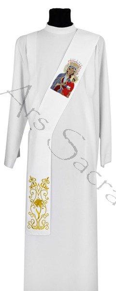 """Estola para diácono """"Virgen Negra de Czestochowa"""" SDH27-B"""