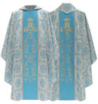 Casulla gótica mariana 085-N14
